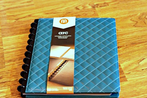 Staples, Quilted Arc, Notebook,Customizable