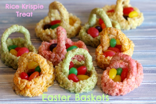 Rice Krispie Treat, Easter Baskets