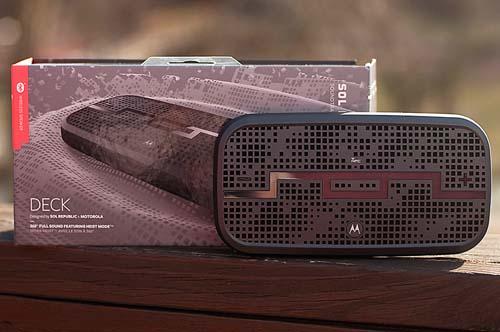 Sol republic,DECK,Wireless,speaker,portable