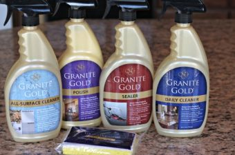 Granite Gold Review: Safe products for all of your natural stone surfaces!