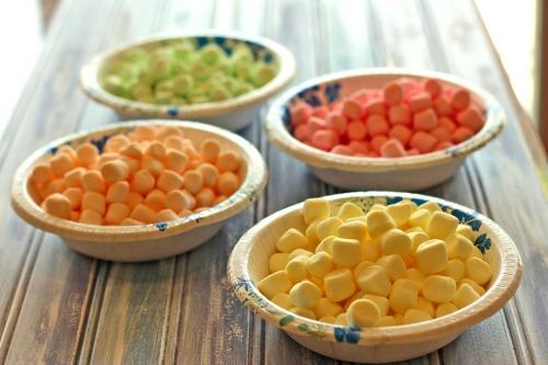 colored,mini,marshmallows
