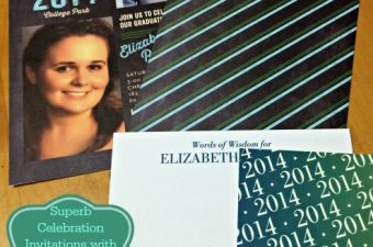 We love our Tiny Prints graduation invitations!
