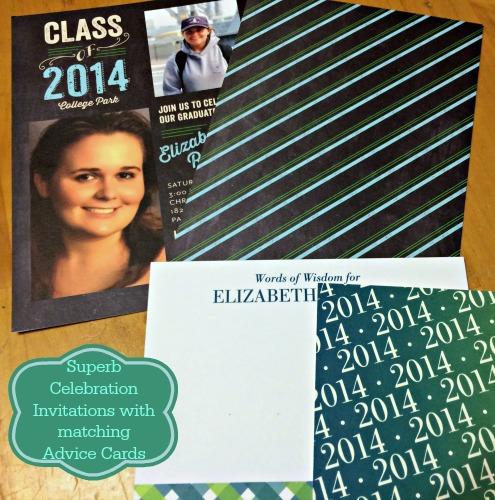 Tiny Prints,graduation invitation,personalized