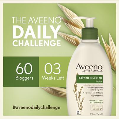 Aveeno Blogger Daily Challenge