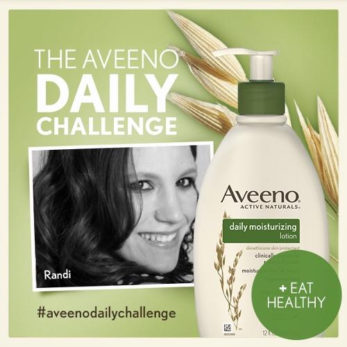 Aveeno Blogger Daily Challenge - Randi