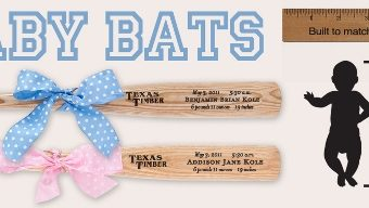 Hit a Homerun with Texas Timber Heirloom Baby Bats