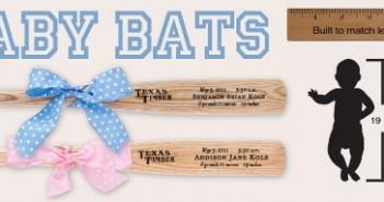 Texas Timber Baby Bats