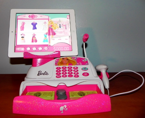 You can purchase the barbie app rific cash register directly through