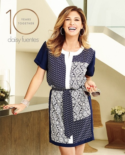 daisy fuentes at Kohl's