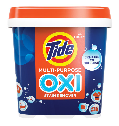 Tide Oxi Multi Purpose Stain Remover For Spring Cleaning