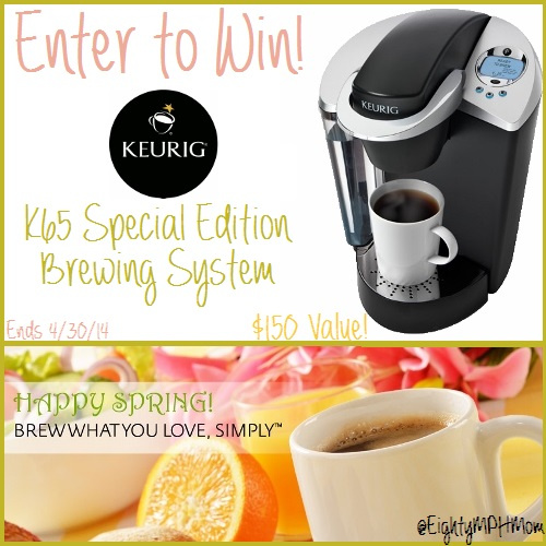 Keurig K65 Special Edition Brewing System Giveaway
