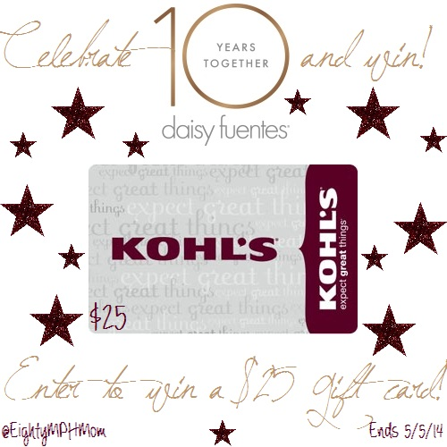 Kohl's daisy fuentes Giveaway