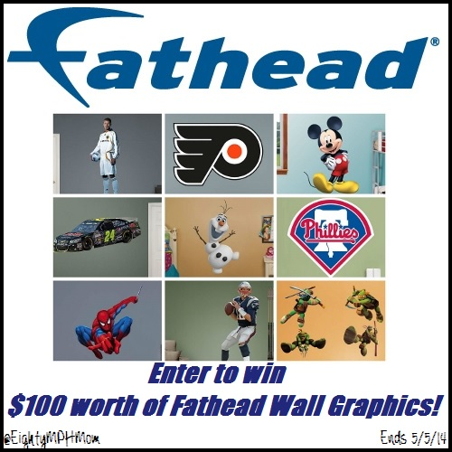 Fathead Giveaway