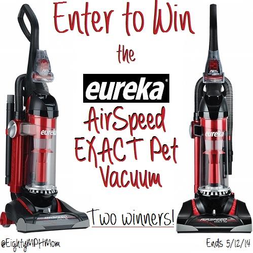 Eureka AirSpeed EXACT Pet Vacuum Giveaway