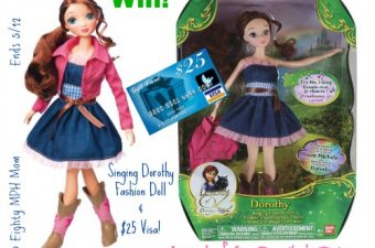 Legends of Oz: Dorothy's Return Movie Singing Dorothy Fashion Doll