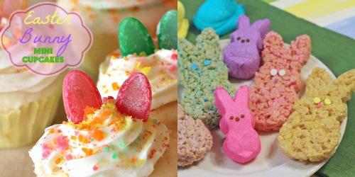 Easter,peeps,cupcakes