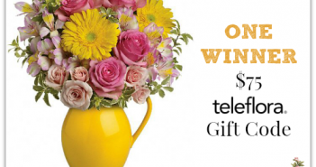 Order Flowers for Mother's Day - Teleflora $75 GC Giveaway!