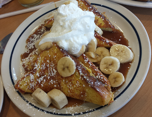 Banana French Toast Ihop Bananas And French Toast