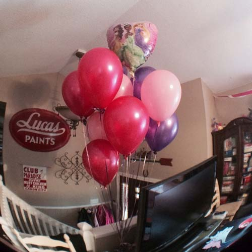 princess,party,balloons
