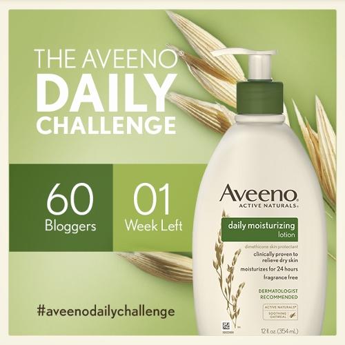 #AveenoDailyChallenge Week 3