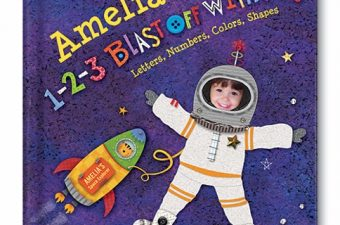 Blast Off with I See Me! Personalized Storybooks