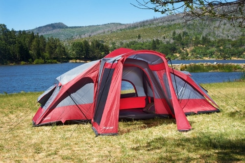 LightSpeed Outdoors Compound 8 Tent & LightSpeed Outdoors Screen House Tent - Eighty MPH Mom | Oregon ...