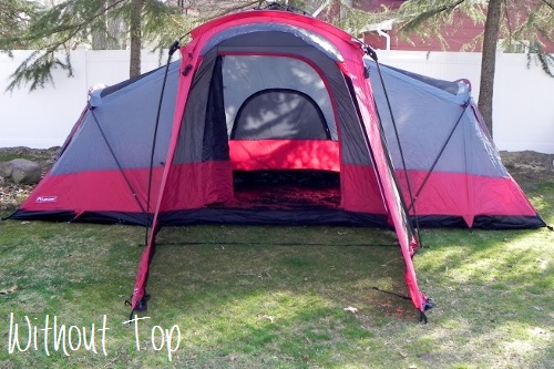 LightSpeed Outdoors Compound 8 Tent (without Top)