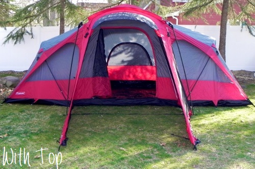 LightSpeed Outdoors Compound 8 Tent (with Top)