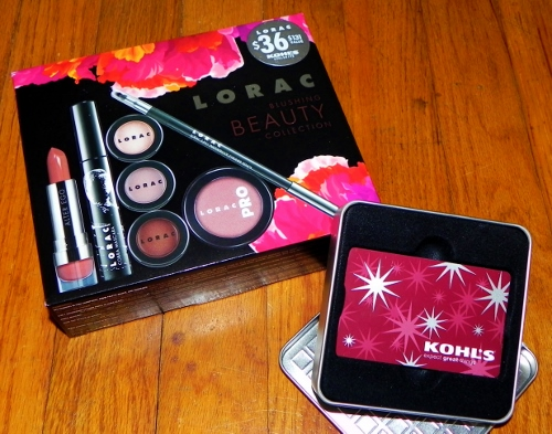 Kohl's Limited Edition Blushing Beauty Collection Set & Gift Card
