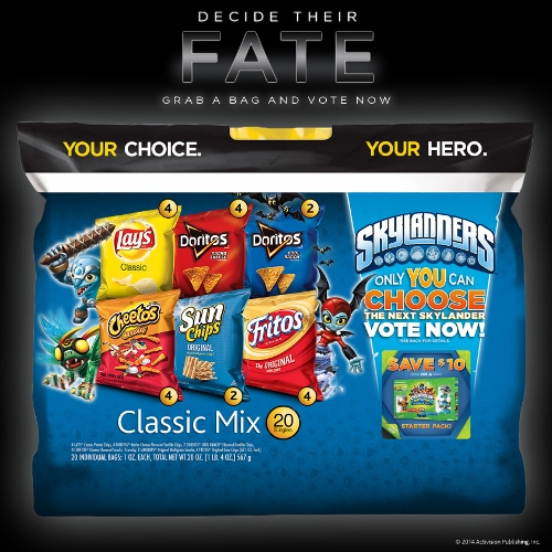Frito-Lay Multipack Skylanders Vote
