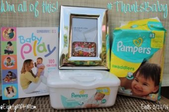 Spend Mother's Day by Saying #ThanksBaby with Pampers