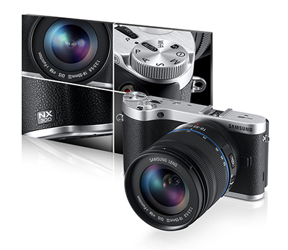 Samsung NX300 20.3MP SMART Camera Retro Modern Design