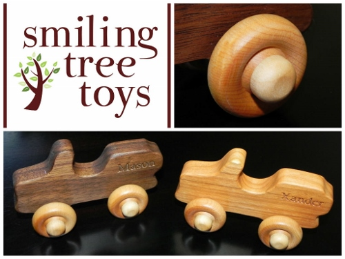 Smiling Tree Toys Collage