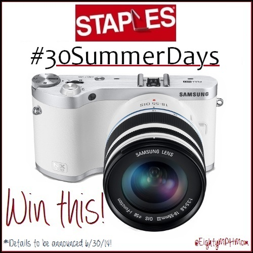 Win Staples #30SummerDays