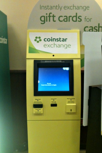 Turn gift cards into cash with Coinstar Exchange Kiosks! - Eighty ...