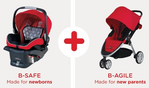 Britax B-Safe and B-Agile Travel System