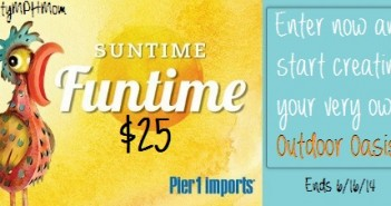 Pier 1 Imports Outdoor Oasis Giveaway
