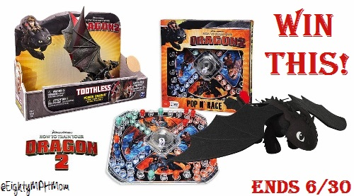 How To Train Your Dragon 2 Giveaway