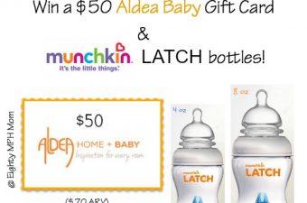 Aldea Baby,Munchkin,bottles,giveaway