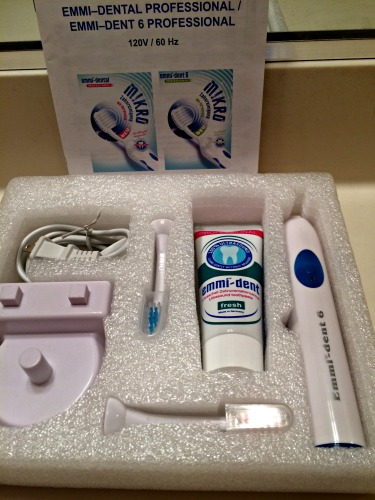 emmident, ultrasound toothbrush