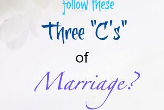 "Eighty MPH Mom – The Three ""C's"" for a Successful Marriage"