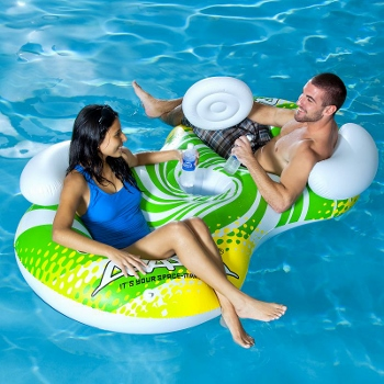 Kohl's - Aviva Sun Odyssey 2-Person Inflatable Chair Pool Float