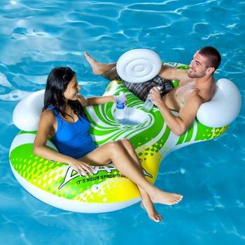Kohl's - Aviva Sun Odyssey 2-Person Inflatable Chair Pool Float