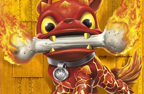 Frito-Lay Skylanders Fire Bone