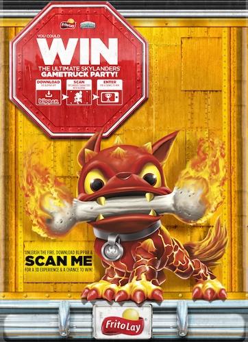 Frito-Lay Skylanders Gaming Party Contest