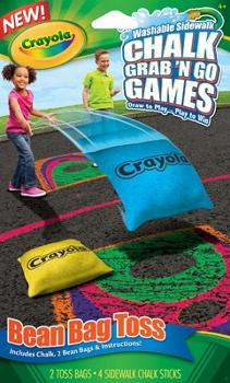 Kohl's - Crayola Chalk Grab 'N Go Games Bag Toss
