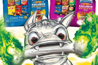 Send Summer Out with a Fire Bone Blippar Bang – Frito-Lay and Skylanders