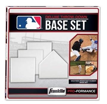 Kohl's - Franklin MLB Deluxe Throw-Down Rubber Base Set