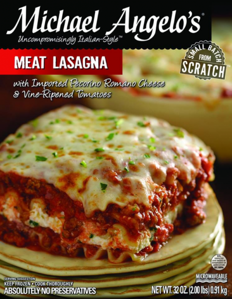 Michael Angelo's Meat Lasagna