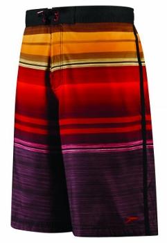 Kohl's - Speedo Horizon Ombre-Striped E-Board Shorts